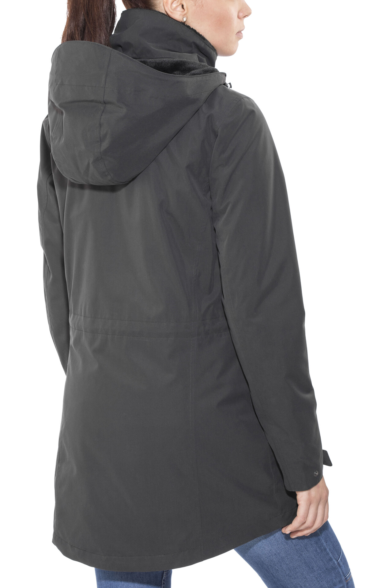 Jack Wolfskin Madison Avenue Hardshell Coat Damen phantom